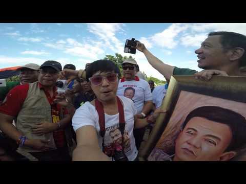 Duterte Cabanatuan dinumog ng mga supporters.