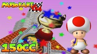 Mario Kart 64 | Copa Estrella 150cc | Toad