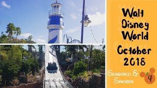 Walt Disney World & Florida Vlog - October 2018 - Seaworld & Smores