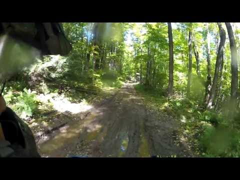 More dirt roads and woods roads (some with dangerous, unmarked corners!)