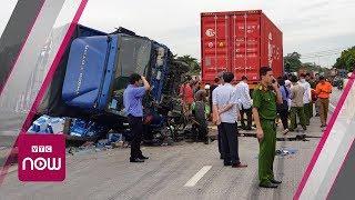 Hải Dương: 7 người chết trong tai nạn liên hoàn