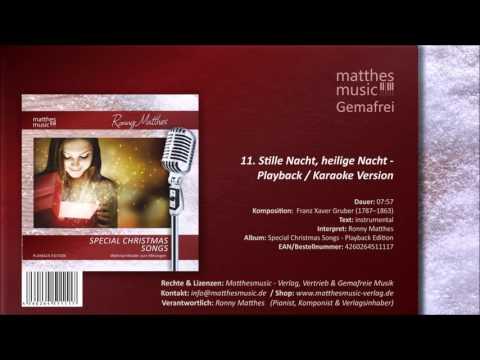 Stille Nacht, heilige Nacht (Karaoke) (11/12) - CD: Special Christmas Songs, Vol. 1 - Playback