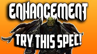 TRY THIS SPEC! - WoW BFA 8.1.5 Enhancement Shaman PvP