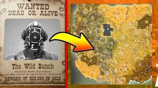 WHERE THE VISITOR CAME FROM! *WILD WEST* Fortnite Season 5 Storyline!