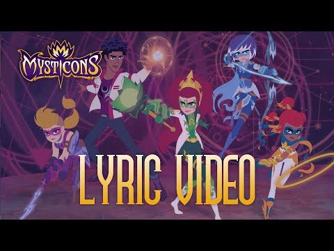 MYSTICONS | You're Not the Boss of Me Lyric Video | Sundays @ 8:30AM on Nickelodeon!
