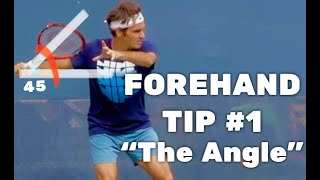 "#1-Forehand Tip - reference Point ""The Angle"""