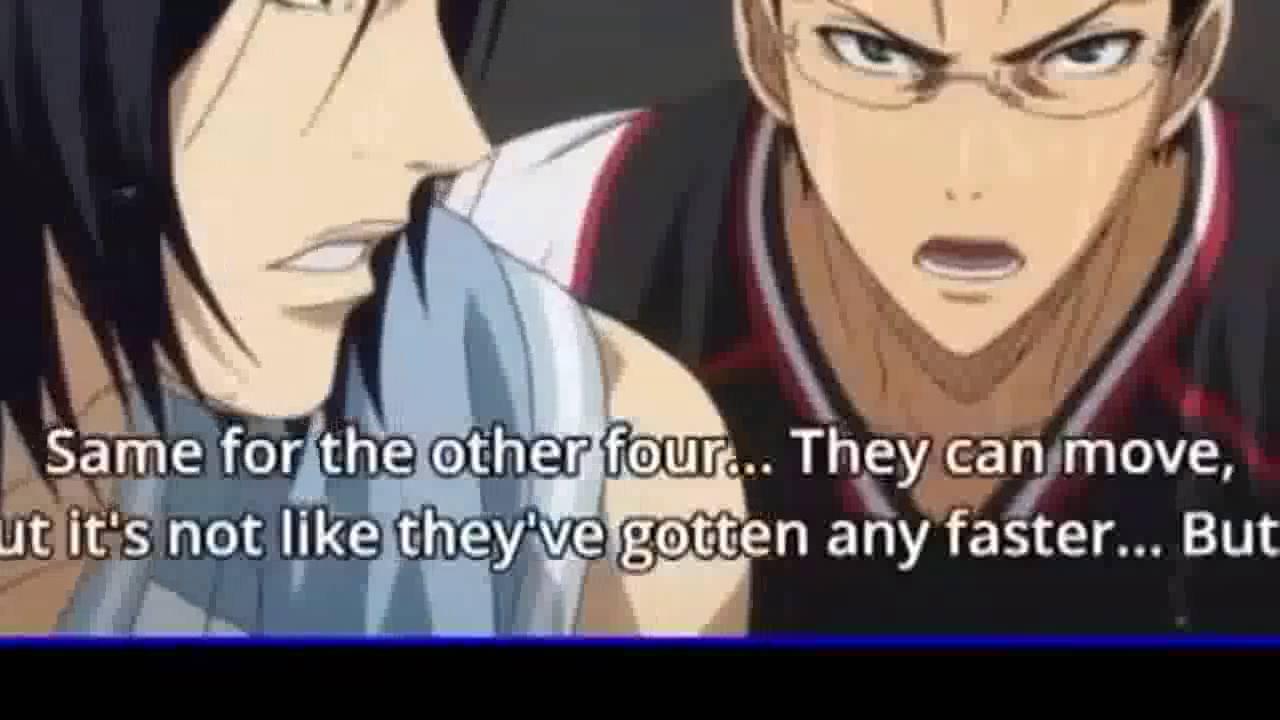Kuroko no basket ep 1