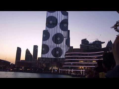 Burj Khalifa Laser light Show 2018 - Amazing Dubai ?