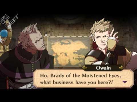 Fire Emblem Awakening - Brady & Owain Support Conversations