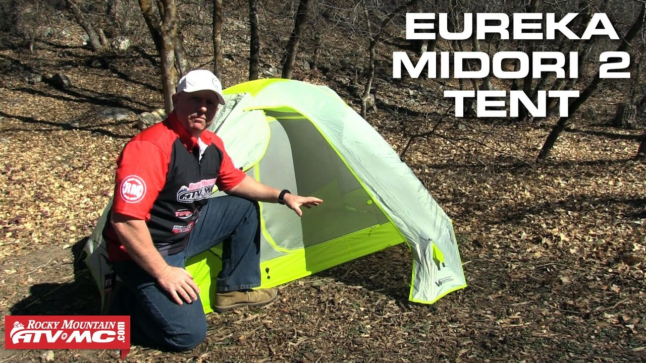 & Eureka Midori 2 Tent | Rocky Mountain ATV/MC - YouTube