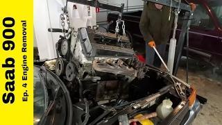 Ep.4 Saab 900 Engine Removal Process