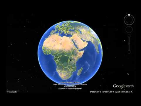 Cameroon Google Earth View