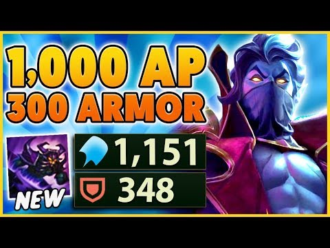*NEW SKIN* THIS NEW BUILD & RUNES MAKES YOU UNKILLABLE (1K AP & 300 ARMOR) - BunnyFuFuu