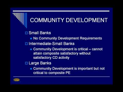 CRA Community Development Webinar