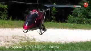 MODELCO Hélicoptère Platinium RC 3voies