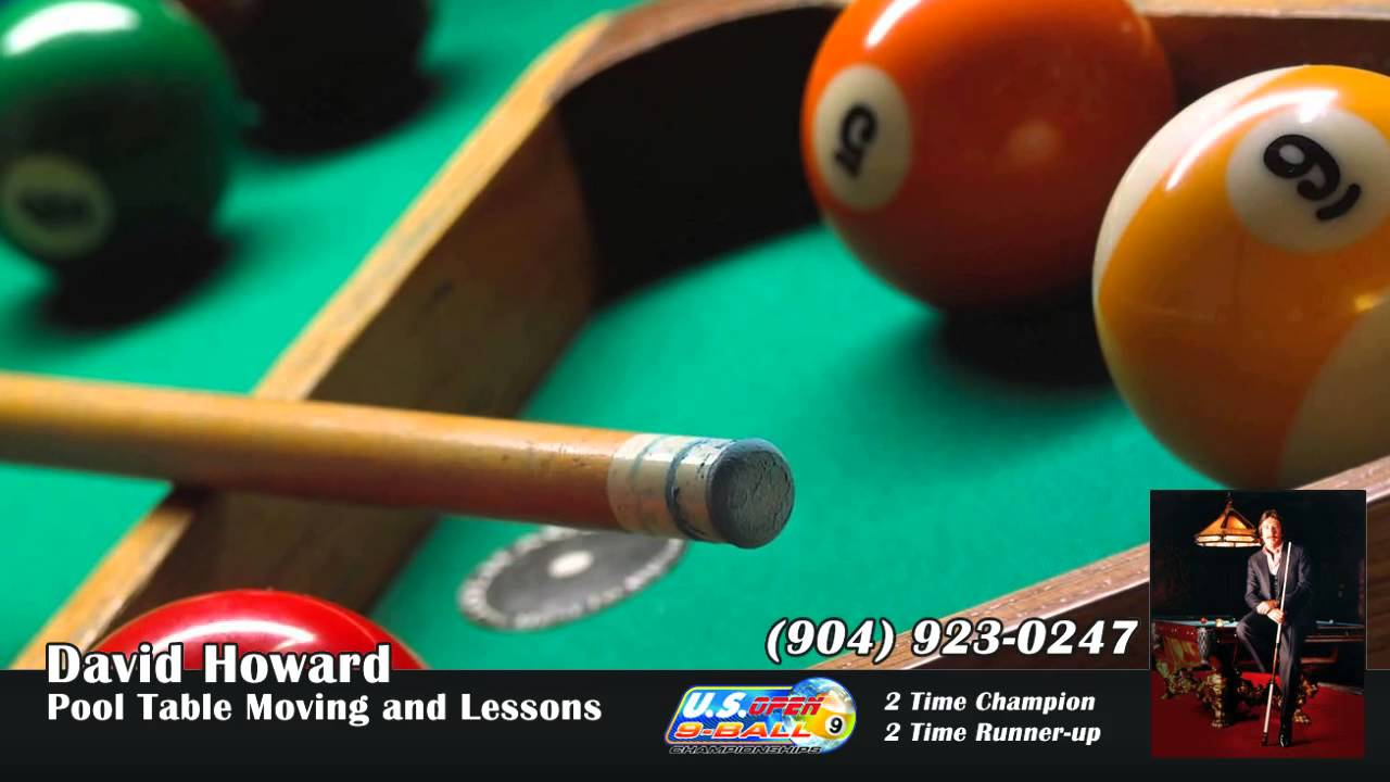 David Howard Pool Table Moving And Lessons In Jacksonville - Jacksonville pool table movers