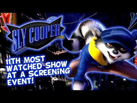 Sly Cooper TV Show Slight Status Update - 11th Most Screened Show At MIP Junior!