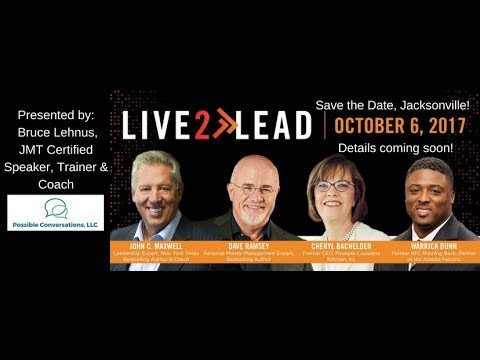Live2Lead Leadership Event in Jacksonville