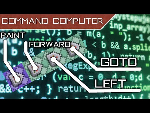 Command Computer in Vanilla Minecraft [1.9]