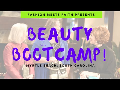 BEAUTY BOOTCAMP - MAKEOVER FOR WOMEN! WITH SHARI BRAENDEL, CHRISTIAN IMAGE CONSULTANT