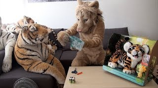 Kitwana's Toys #4: 2017 Hasbro FurReal Friends Tyler the Playful Tiger Unboxing & Review