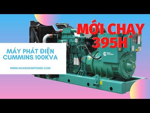 Thanh lý CỰC GẤP máy phát điện cummins 100kva chạy 395h