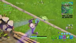 Playing Fortnite New Skin
