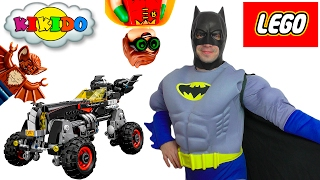 🦇 ПАПА в костюме БЭТМЕНА ❓ЛЕГО БЭТМЕН БЭТМОБИЛЬ 70905  LEGO Batman Movie BATMOBILE 2017