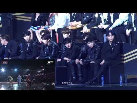 IDOLS reaction to BTS IDOL @MAMA 2018 in HONG KONG