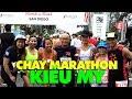 Thể thao ở Mỹ: Chuyện bên lề, đường đua Rock n Roll Marathon ở San Diego