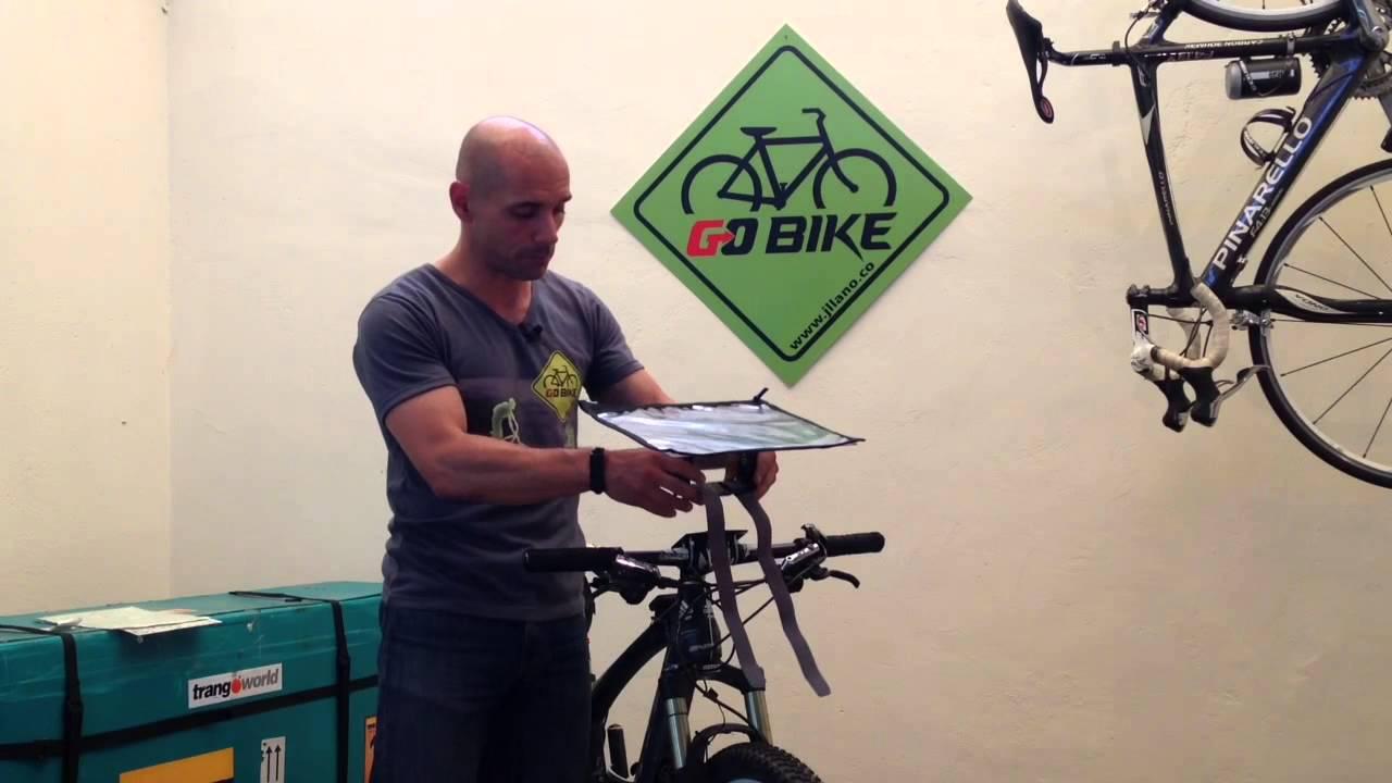 mapa para bicicleta Porta mapas para bici/ Bike Map holder   YouTube mapa para bicicleta