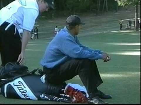 タイガー・ウッズ 初来日 Tiger Woods in Japan 1997 №2-12