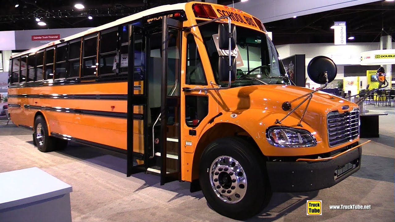 2018 Thomas Built School Bus Walkaround 2017 Nacv Show