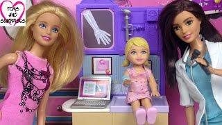 ? Барби - Мама и Дочка идут к Доктору. Видео с куклами. Мультик для девочек