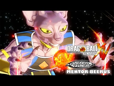 Mentor Beerus Master Quest Training - Dragon Ball Xenoverse: All the masters quests and trials for Mentor God of Destruction Beerus in Dragon Ball Xenoverse! The purpose of doing master quests and training with Beerus is so you can learn his attacks like the Sphere of Destruction for your created character. There is no specific place you can find him, his appearance is random until he becomes your mentor. If you see Beerus in Toki Toki City, you can ask him to mentor you and then he will always stand in front of the statute in the game.  These are the master quests for Beerus in Dragon Ball Xenoverse  00:00 Morning Exercise  02:44 Feeling