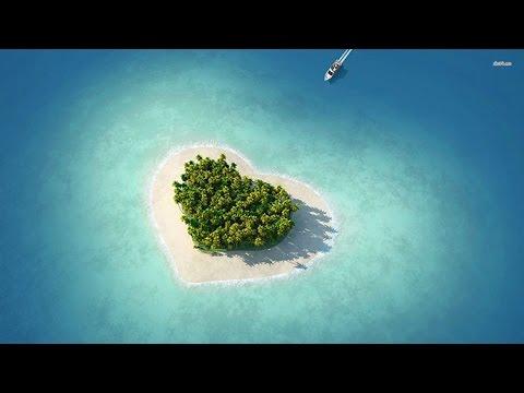 Heart shaped islands & lakes/Nησια & λιμνες σε σχημα καρδιας