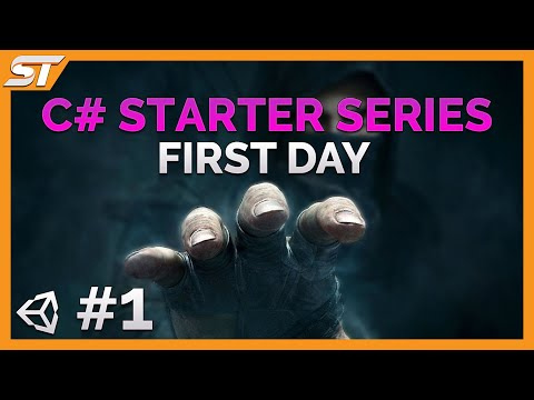 C# beginner programming tutorial series – Unity 5 – Part 1 – Your First Day