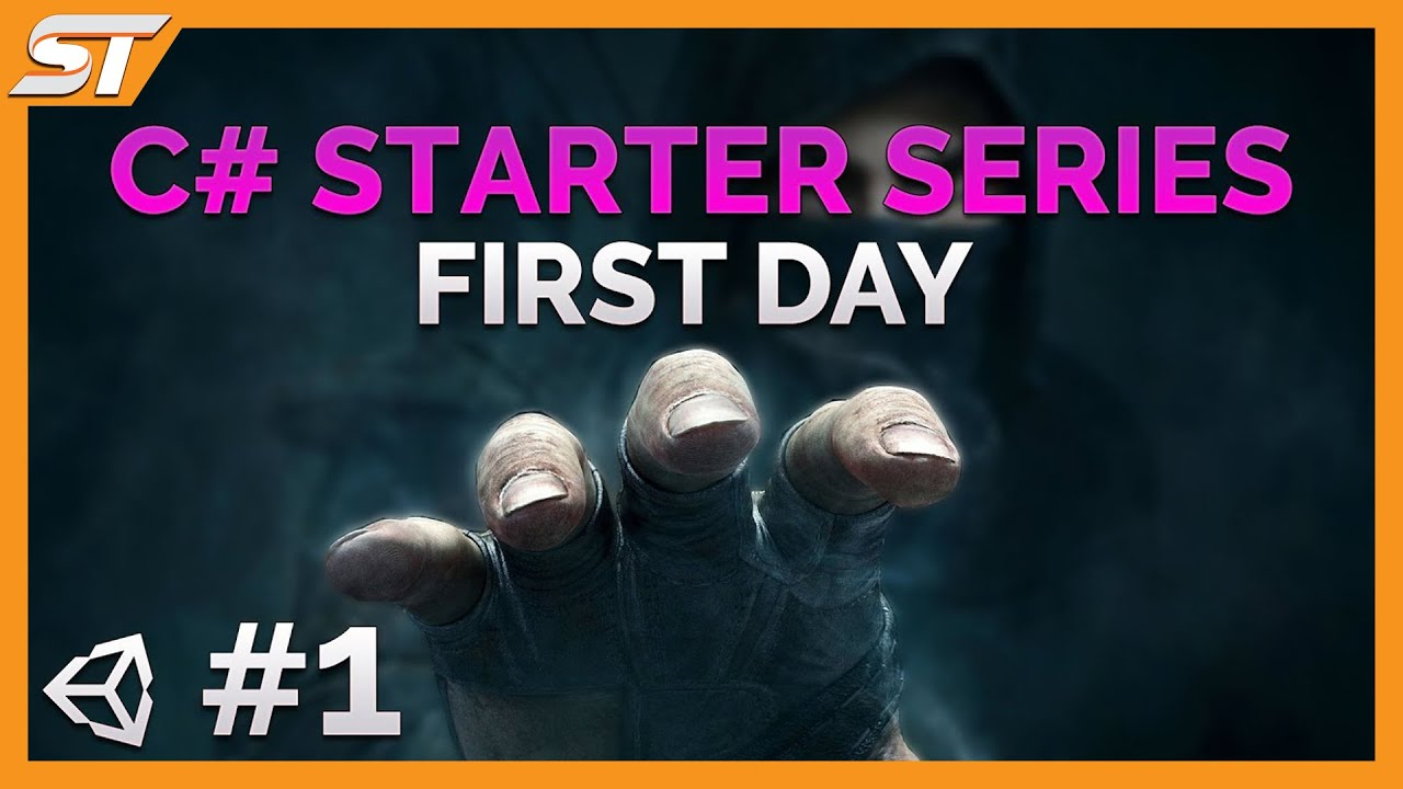 1- C# Beginner Programming Series - Your First Day - Unity