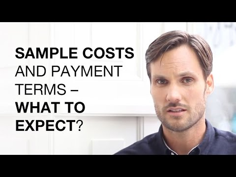 Clothing Sample Costs and Payment Terms – What to Expect?