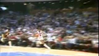 1983 Lakers @ 76ers - Dr. J Famous Cradle Dunk, Magic 20 assists