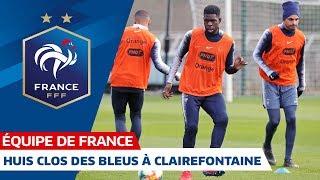 Les Bleus à l'entraînement, Equipe de France I FFF 2019
