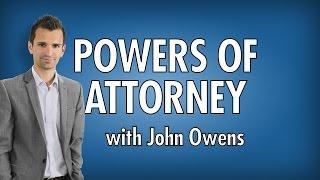 John Owens Powers of Attorney