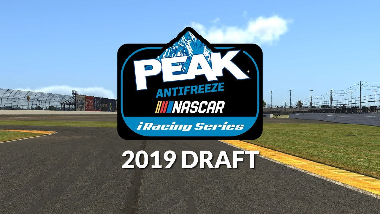 Recap: 2019 eNASCAR PEAK Antifreeze iRacing Series Draft