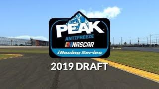 2019 eNASCAR PEAK Antifreeze iRacing Series Draft