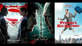 Movie Epidemic 86: Batman v Superman / Pee Wee's Big Holiday / Harry Potter Deathly Hallows Part 2
