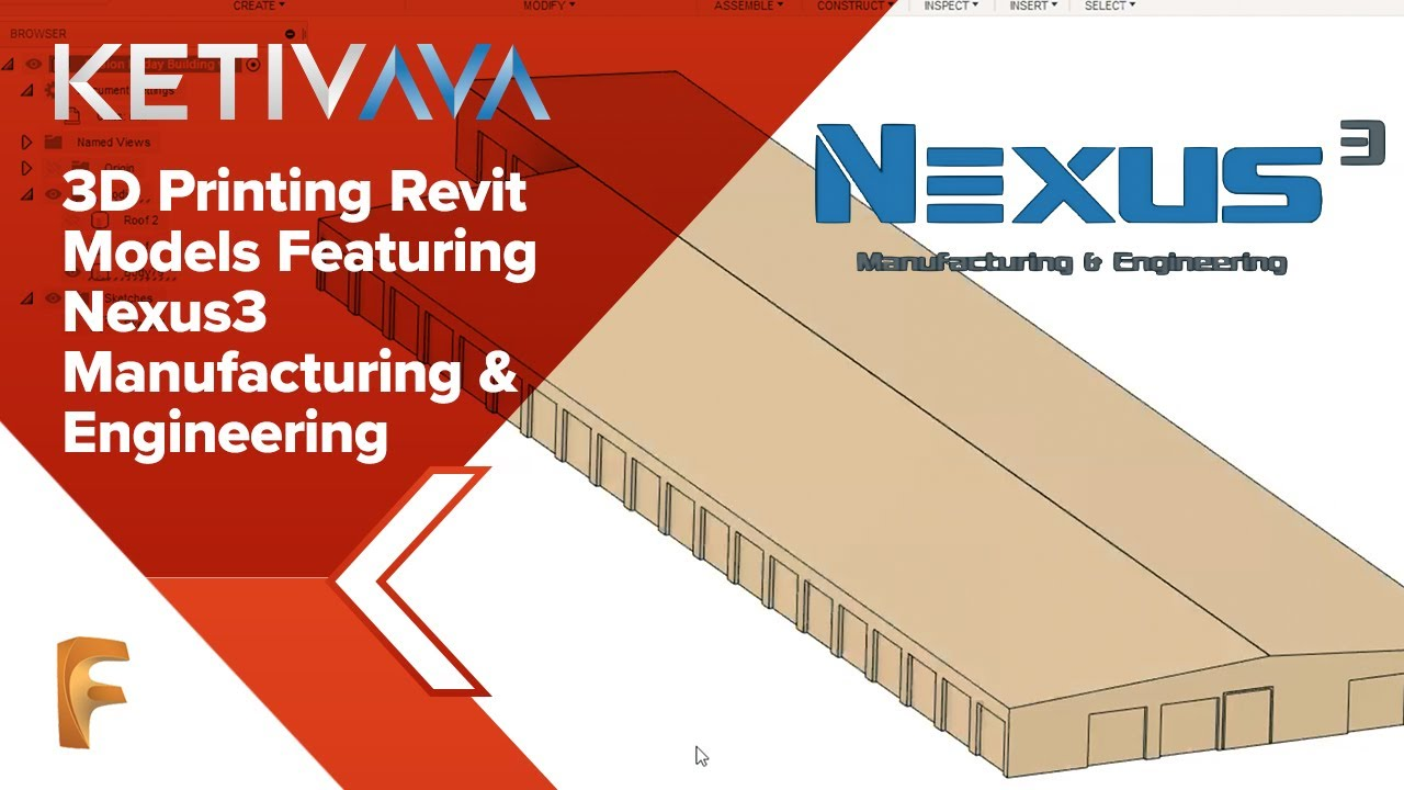 How to 3D Print Revit Architectural Models!