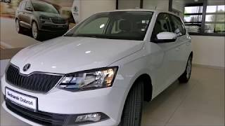 ŠKODA Fabia Hatchback Ambition Mixx Audio Biel Candy 1.0TSI 110KM- prezentacja