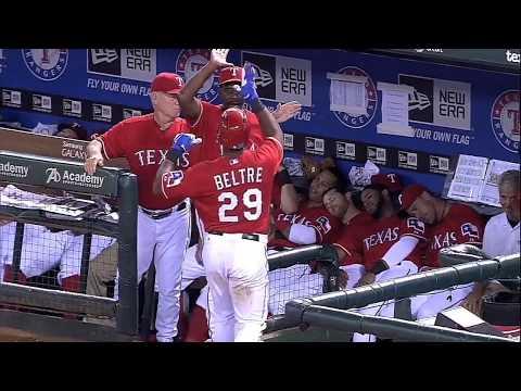 Adrian Beltre puts his teammates to SLEEP with a goahead home run!