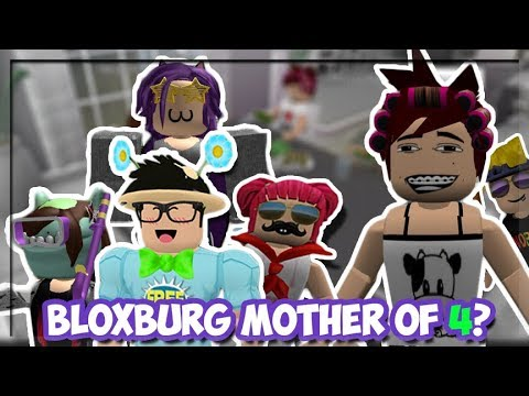 Bloxburg Mother Of Four Kids Meeting Our Long Lost Sister Part 11 Roblox Roleplay - peeta bread roblox bloxburg