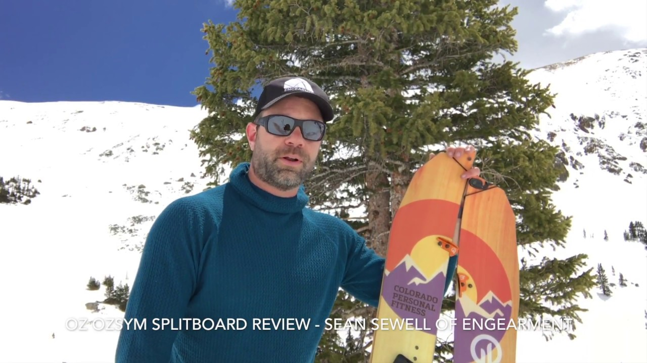 d2959d86264 OZ OZSym Custom Splitboard Review - YouTube